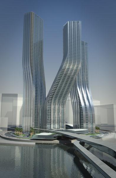 dancing towers  dubai