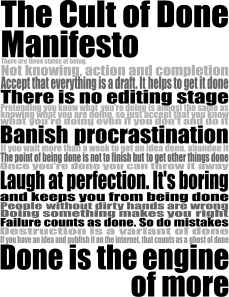 get things done manifesto