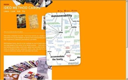 Design process designism for Ideo palo alto